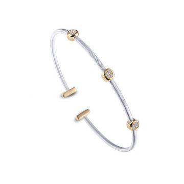 Lafonn Open Cuff Station Bracelet