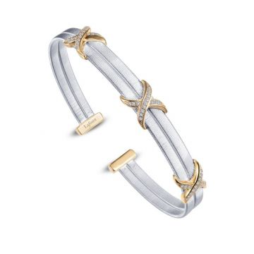 Lafonn Open Cuff X Bracelet