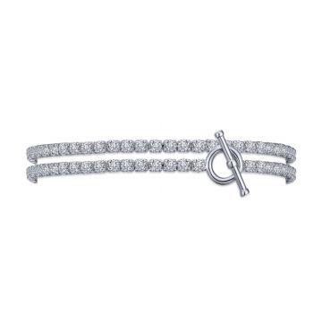 Lafonn Double Wrap Tennis Bracelet