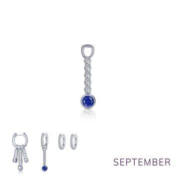 Lafonn Sept Birthstone Earring Charm