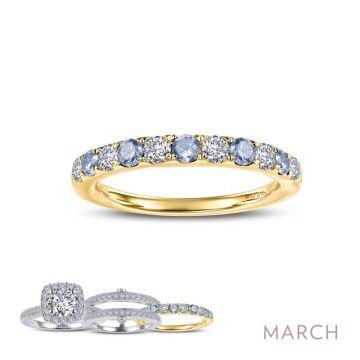 Lafonn March Birthstone Ring