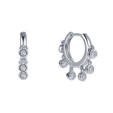 Lafonn Dangling Huggie Earrings