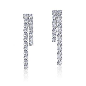 Lafonn Linear Drop Earrings