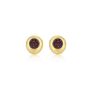 Lafonn Mixed-Color Button Stud Earrings