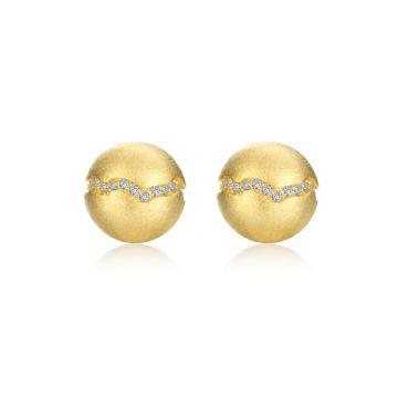 Lafonn 0.32 CTW Ball Stud Earrings