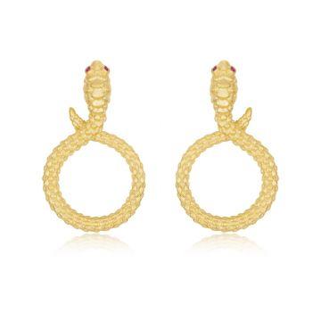 Lafonn Modern Snake Earrings