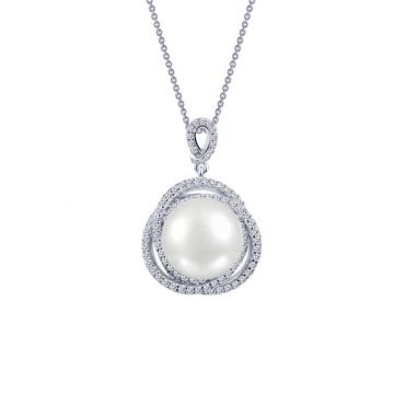 Lafonn Cultured Freshwater Pearl Necklace