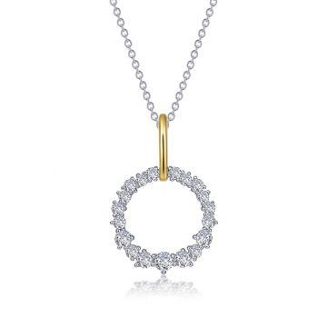 Lafonn Open Circle Pendant Necklace