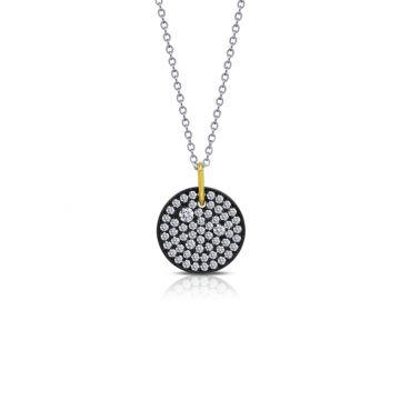 Lafonn Disc Pendant Necklace