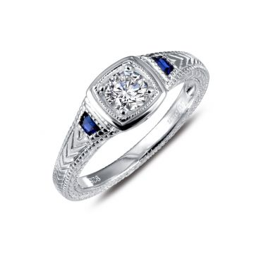 Lafonn Art Deco Inspired Engagement Ring