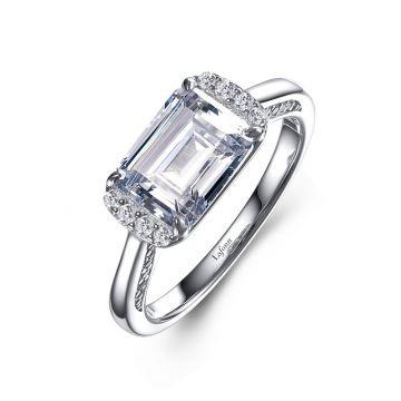 Lafonn East-West Engagement Ring