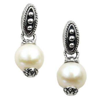 Andrea Candela Sterling Silver Vida De Plata Gemstone Drop Earrings