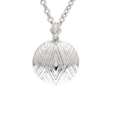 Andrea Candela Sterling Silver Tapiceria Gemstone Pendant