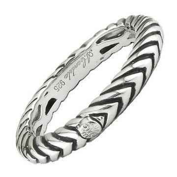 Andrea Candela Sterling Silver Pasion De Plata Ring