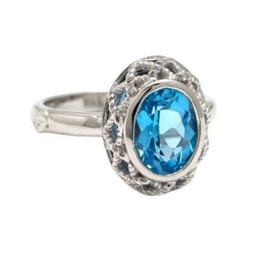 Andrea Candela Sterling Silver Rioja Gemstone Ring