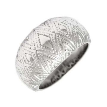 Andrea Candela Sterling Silver Tapiceria Ring