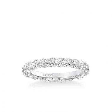 ArtCarved Eternity Anniversary Band 1 1/2 ctw in 18k White Gold