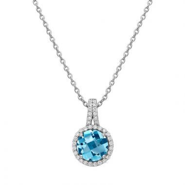 Lafonn Aria Sterling Silver Gemstone Necklace