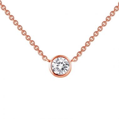 Lafonn Sterling Silver Monte Carlo Simulated Diamond Necklace