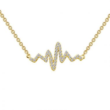 Lafon Classic Simulated Diamond Necklace