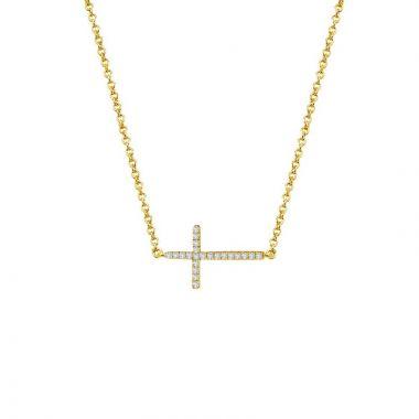Lafon Classic Simulated Diamond Necklace