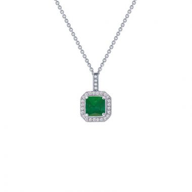 Lafonn Classic Sterling Silver Gemstone Necklace