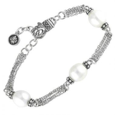 Andrea Candela Sterling Silver Vida De Plata Gemstone Bracelet